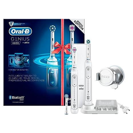 Oral-B Genius 8900 – Cepillo de dientes eléctrico con 2ª mango