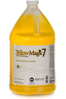 Yellow Magic 7: One Gallon, Full Strength, Undiluted Jug of Human and Pet