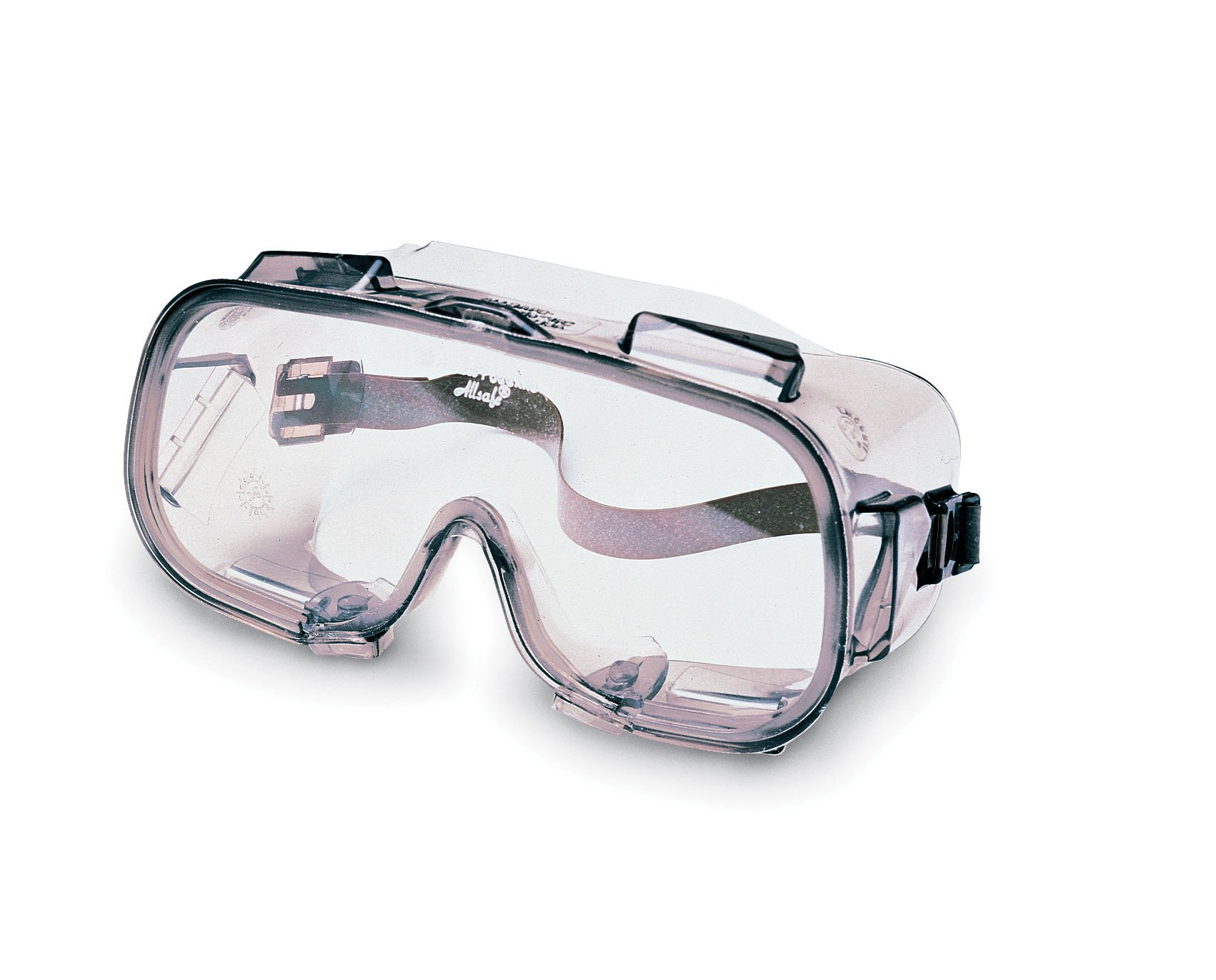 Jackson Safety 16361 V80 Monogoggle VPC Safety Goggles, Clear Anti-Fog Lens with Bronze Frame (Pack of 36) by Kimberly-Clark Professional