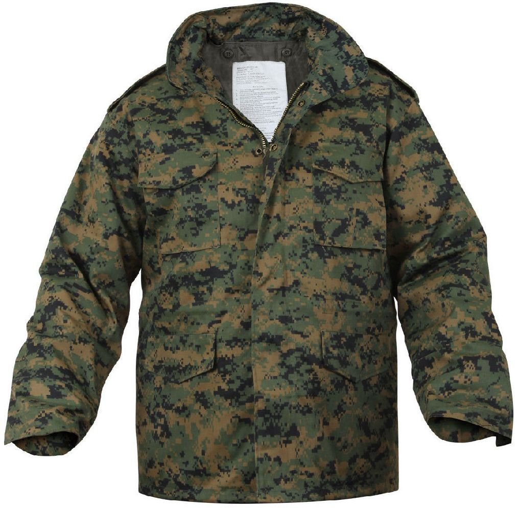 人気沸騰ブラドン ウッドランドデジタルカモフラージュMarpatフィールドコートArmy Jacket W B07DKGYP5C/Liner W/Liner 3X-Large Jacket B07DKGYP5C, 越後村上うおや:1a53efdd --- diceanalytics.pk