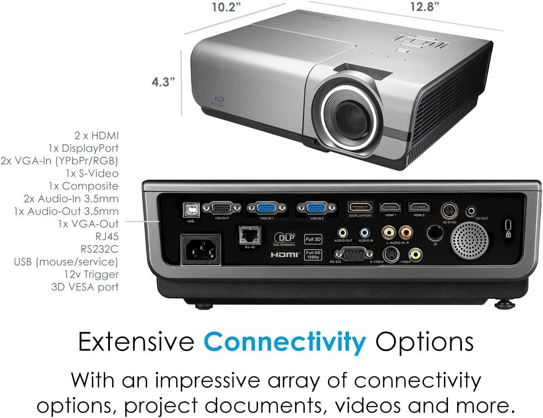 Optoma EH500 Video - Proyector (4700 lúmenes ANSI, DLP, 1080p ...