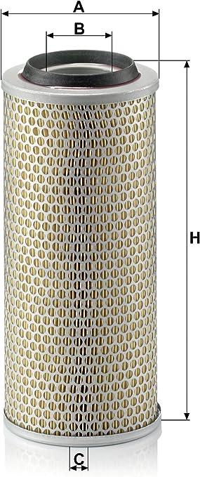 Original Mann Filter Luftffilter C 15 165 3 Für Pkw Auto