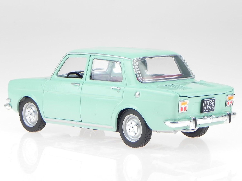 Simca 1000 LS Stradale 1969 Modellauto Leo 1:24