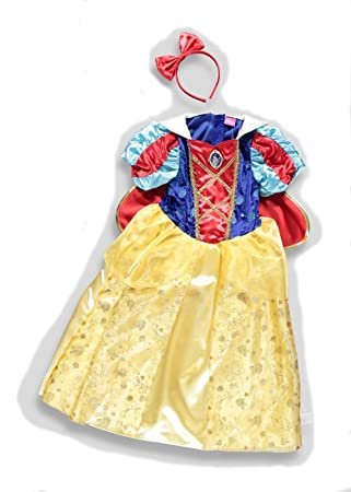 Officially Licensed Disney Princess Snow White fancy dress 6-7yrs ...