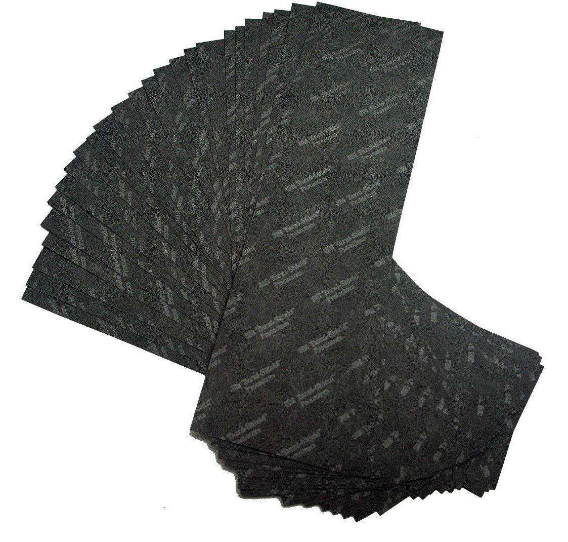 3M Anti-Tarnish Strips, 2'' x 7'' (25 Pack)