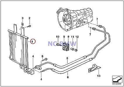 BMW auténtica Radiador para aceite de transmisión 840 Ci 840I 850 ...