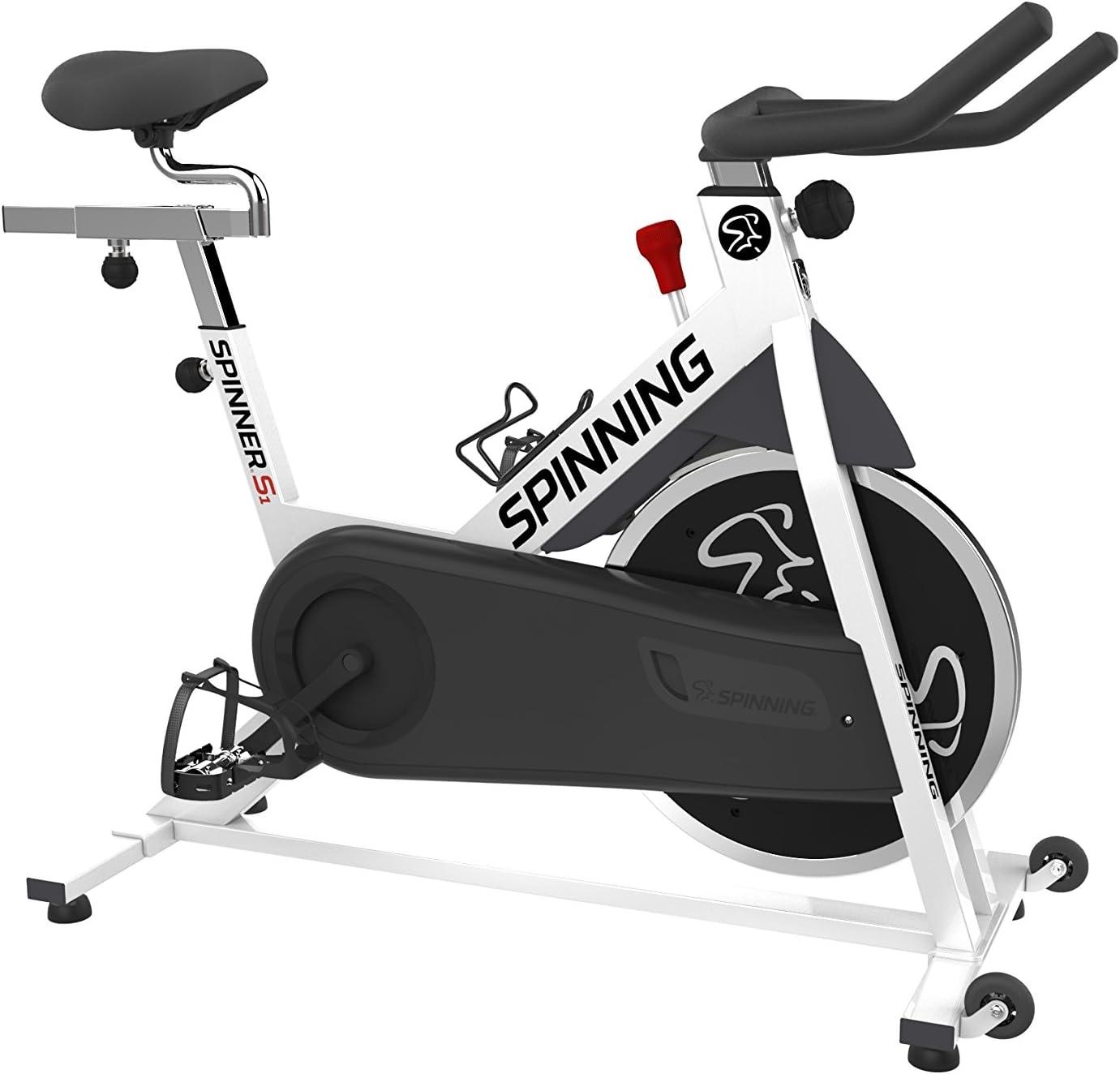 SPINNER S1 – Bicicleta estática, Color Blanco: Amazon.es: Deportes ...