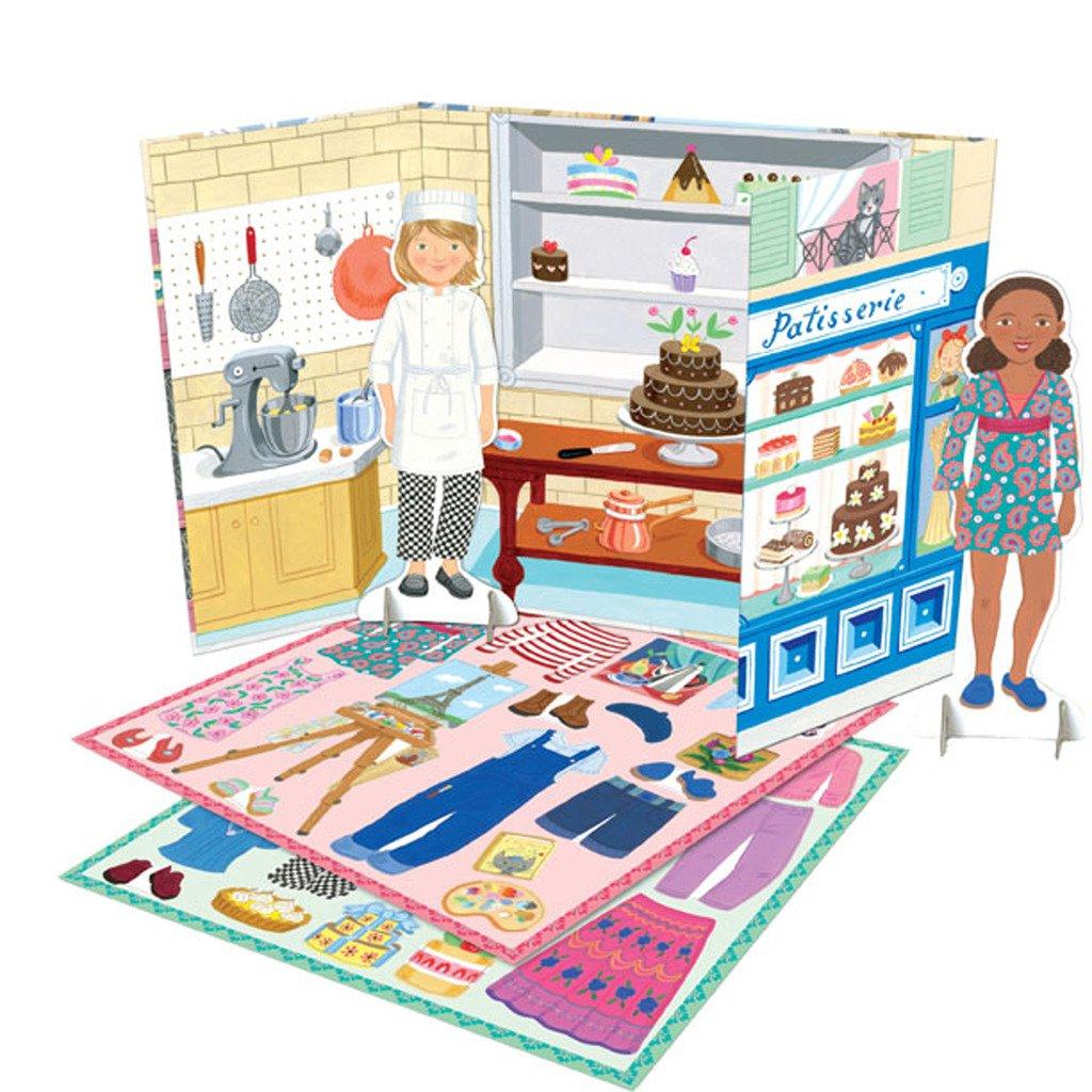 eeBoo Musician and Artist Paper Doll Set 1 EA