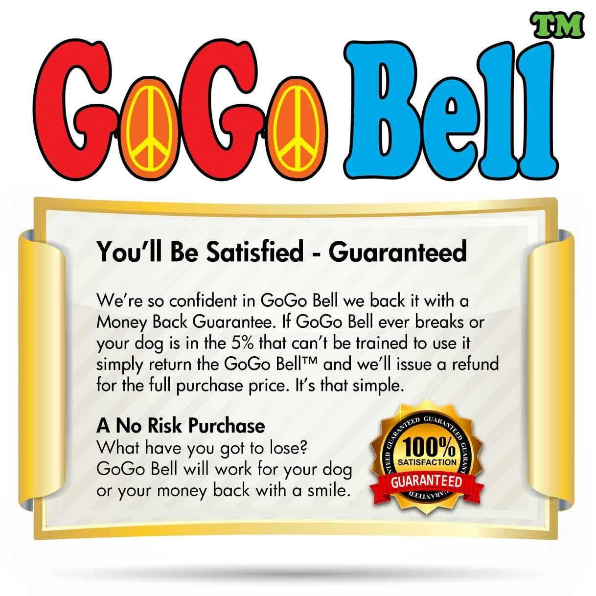 Dog Doorbell - GoGo Bell Deluxe with Solid Brass Bell For Loud Clear Tone by Dog Doorbell (Image #7)