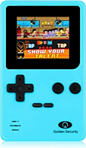 Super Mini(3.7×2.2×0.8 in) Arcade Game Console GSGM-8061,Upgraded 1.8in Screen,152 Games, Best Electronic Gift for Kids