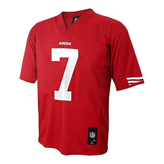 cdcf0362533 Image Unavailable. Image not available for. Color  Colin Kaepernick San  Francisco 49ers Red NFL ...