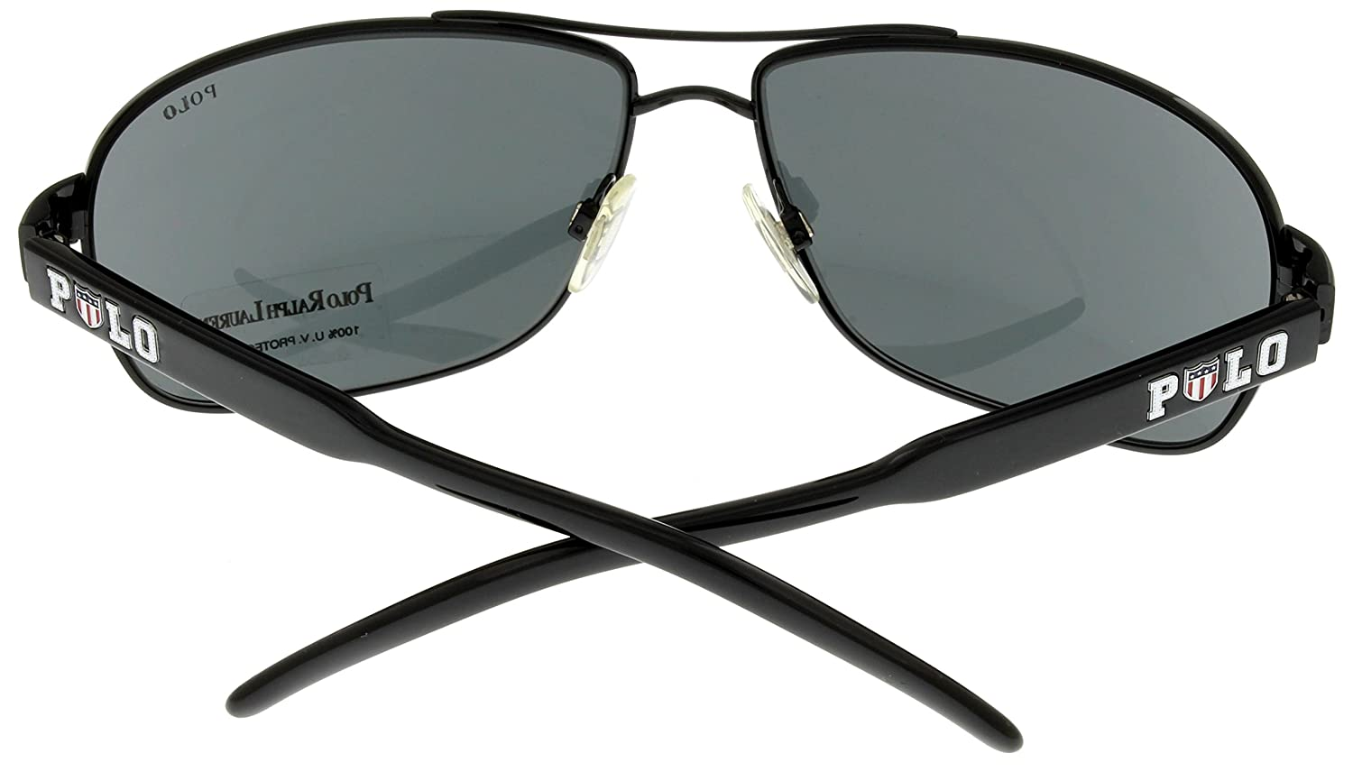 Amazon.com: anteojos de sol Aviator Womens Negro de Polo ...