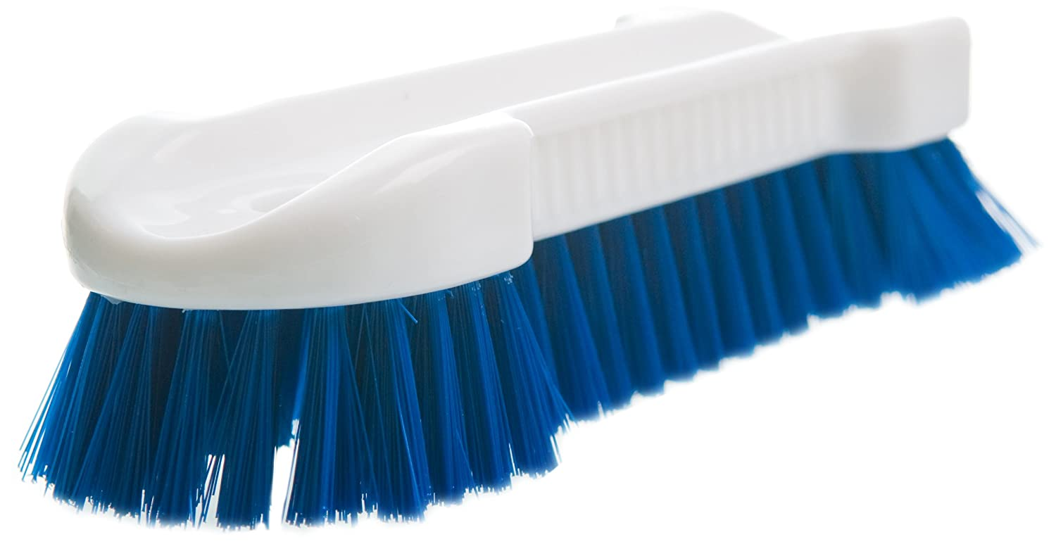 Tile 6-Pack Lola Products 601 Lola Large Scrub Brush Durable Poly Fiber Bristles Grout and Cleaning Car Rims and Tires Great for Scrubbing Floors