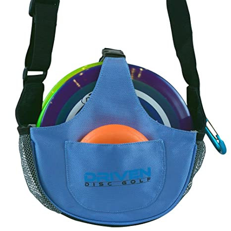 Amazon.com   Arctic Blue Slingshot Disc Golf Bag by Driven (Bag only ... 4ee97456053b6