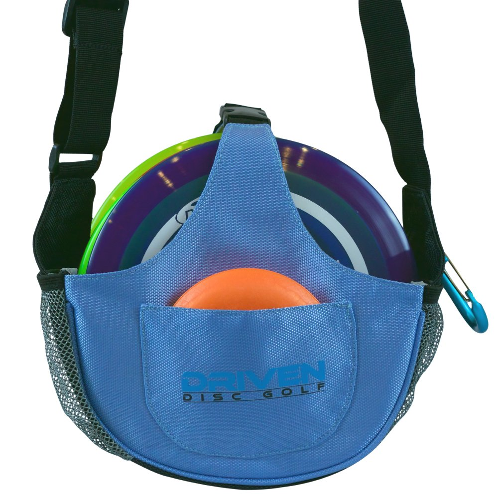 Arctic Blue Slingshot Disc Golf Bag by Driven (Bag only, Discs Sold Seperately)