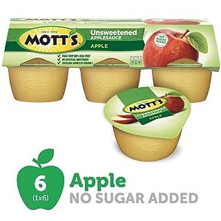 Mott's Natural No Sugar Added Applesauce (148073) 6 - 4 oz cups