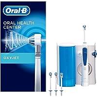 Oral-B Oxyjet Sistema de Limpieza Irrigador Bucal con Tecnología Braun, 4 Cabezales Oxyjet