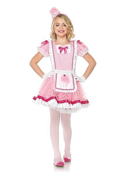 Leg Avenue - Disfraz de enfermera para niña, talla S ...