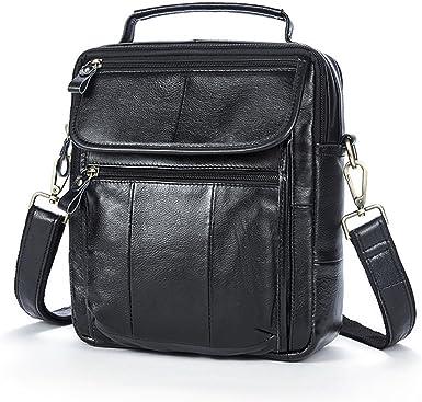 Zhhlinyuan Multi-pocket Crossbody Shoulder Bag Daypack Messenger Bag for Mens