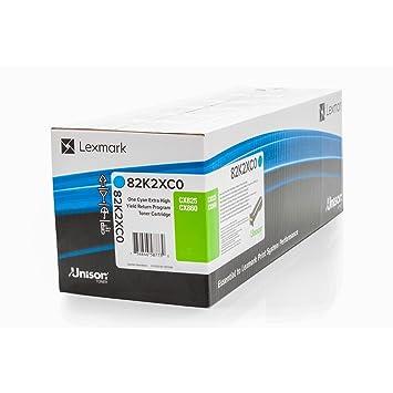 Lexmark Original 82K2XC0 - Cartucho de Impresora para CX 820 ...