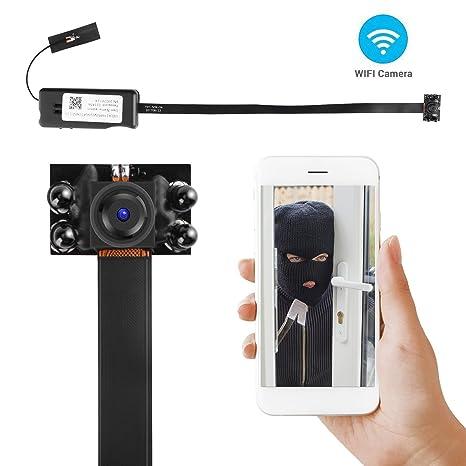 ALON Night Vision  HD 1080P Wifi Hidden Spy Camera DIY Module Spy Cameras