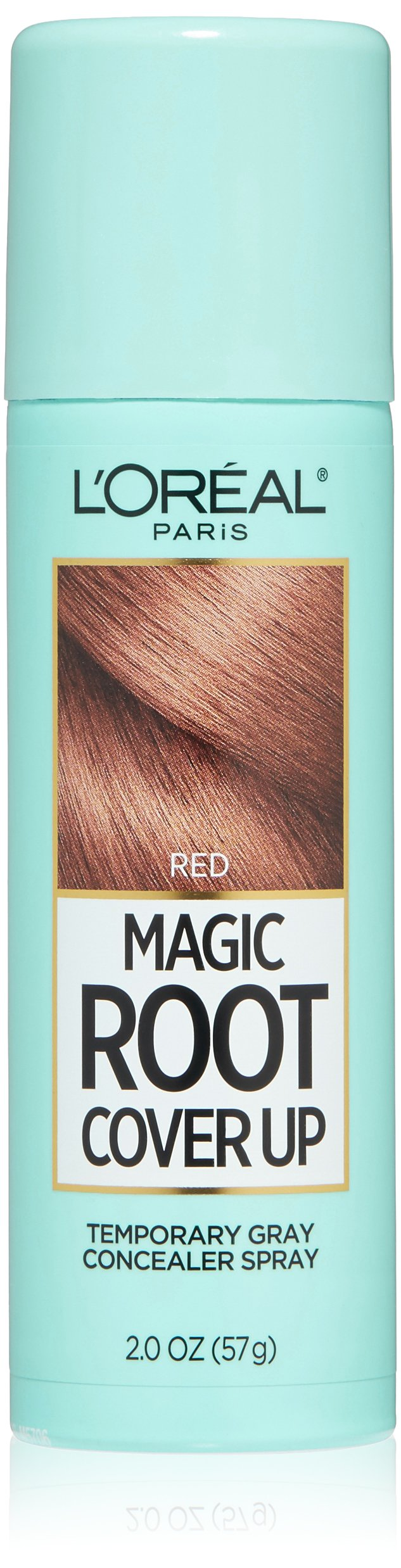 L'Oreal Paris Magic Root Cover Up Gray Concealer Spray, Red, 2 oz.(Packaging May Vary)