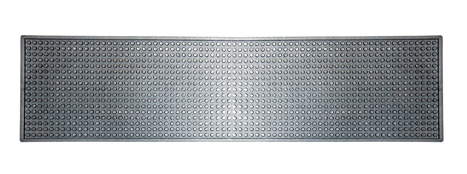 Silver Bar Mat (Long & Narrow) (See Size & Color Options)