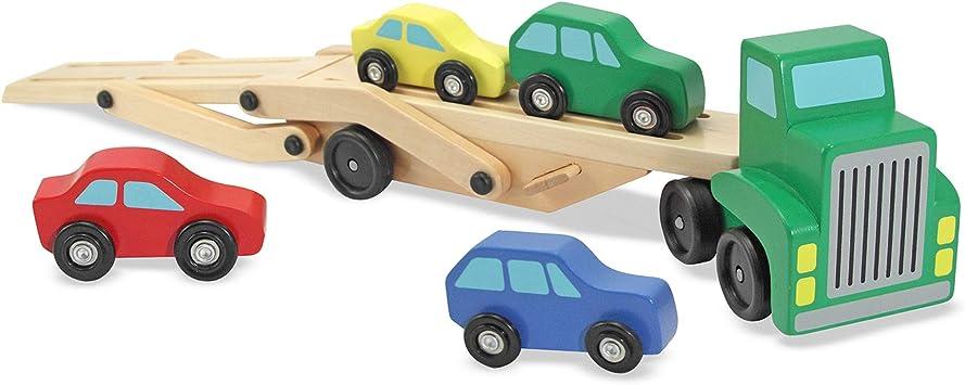 Medium Treasure Bag Cars and Trucks and Things in Plaid
