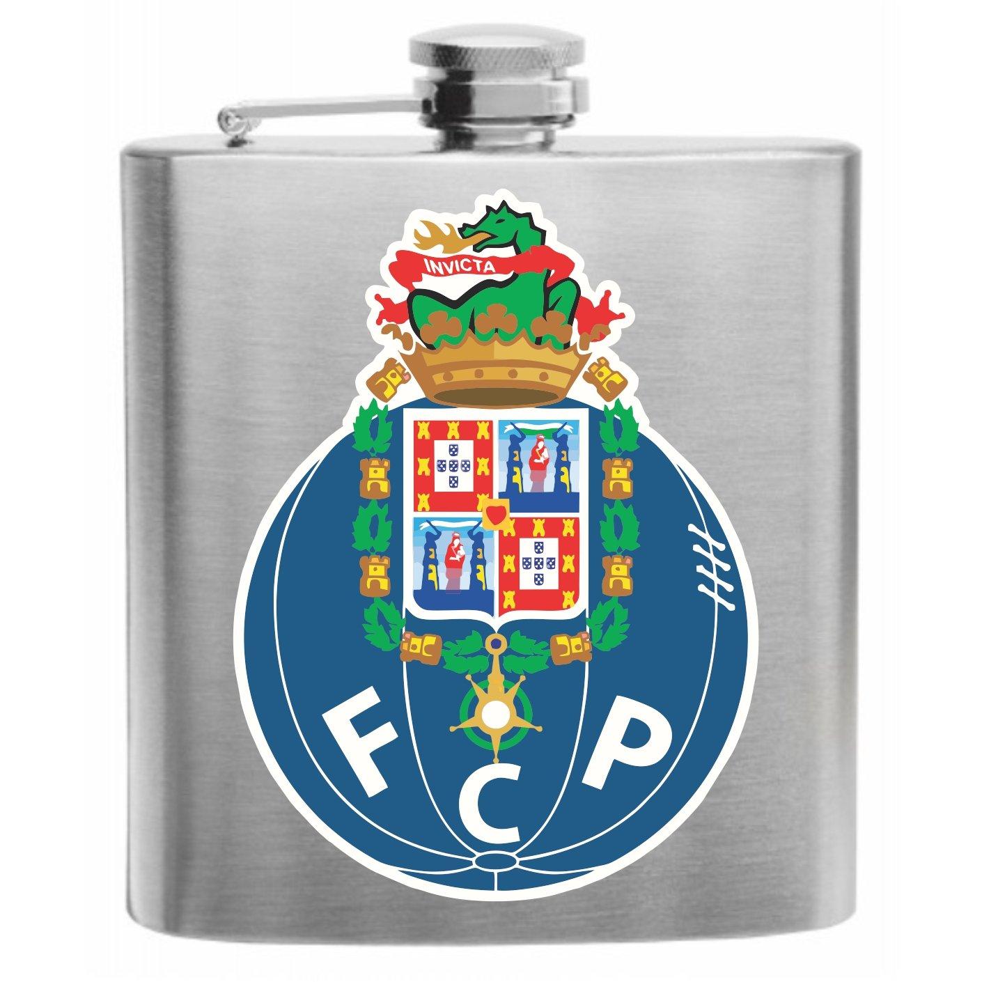 FC Porto Portugal de balón de fútbol Club - Petaca de acero ...