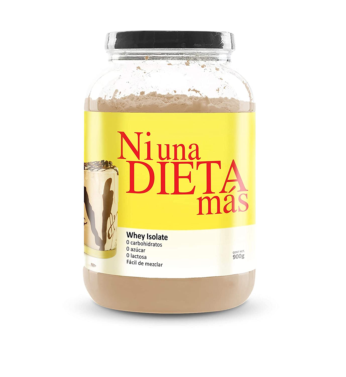 Amazon.com: Ni Una Dieta Más (whey Protein Isolate) (Chocolate ...