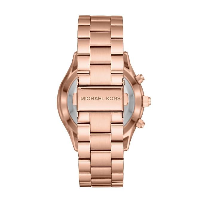 Michael Kors Reloj Analogico para Mujer de Cuarzo con Correa en Acero Inoxidable MKT4005: Amazon.es: Relojes