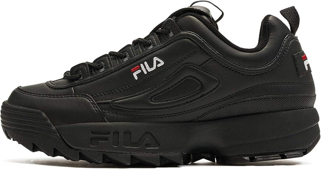 Fila Men's Disruptor Sneaker, Black