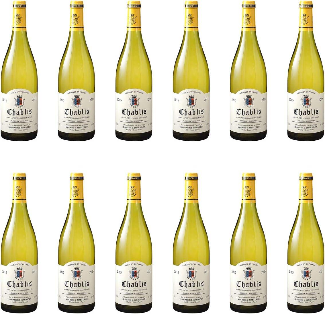 [ 12本 まとめ買い ] シャブリ (ジャン ポール エ ブノワ ドロワン) / 2017年 フランス 白ワイン 辛口 750ml×12本