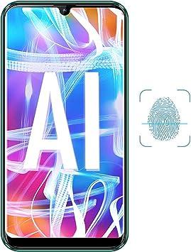 V-mobile N9 Smartphone Libres 4G, 6.3 Pulgada 20:9 4GB RAM y 64GB ROM/128GB Extendida Android 8.1 Octa-Core 4800mAh 12MP moviles baratos Dual SIM Smartphone Móviles y Smartphones Libres (Nero): Amazon.es: Electrónica
