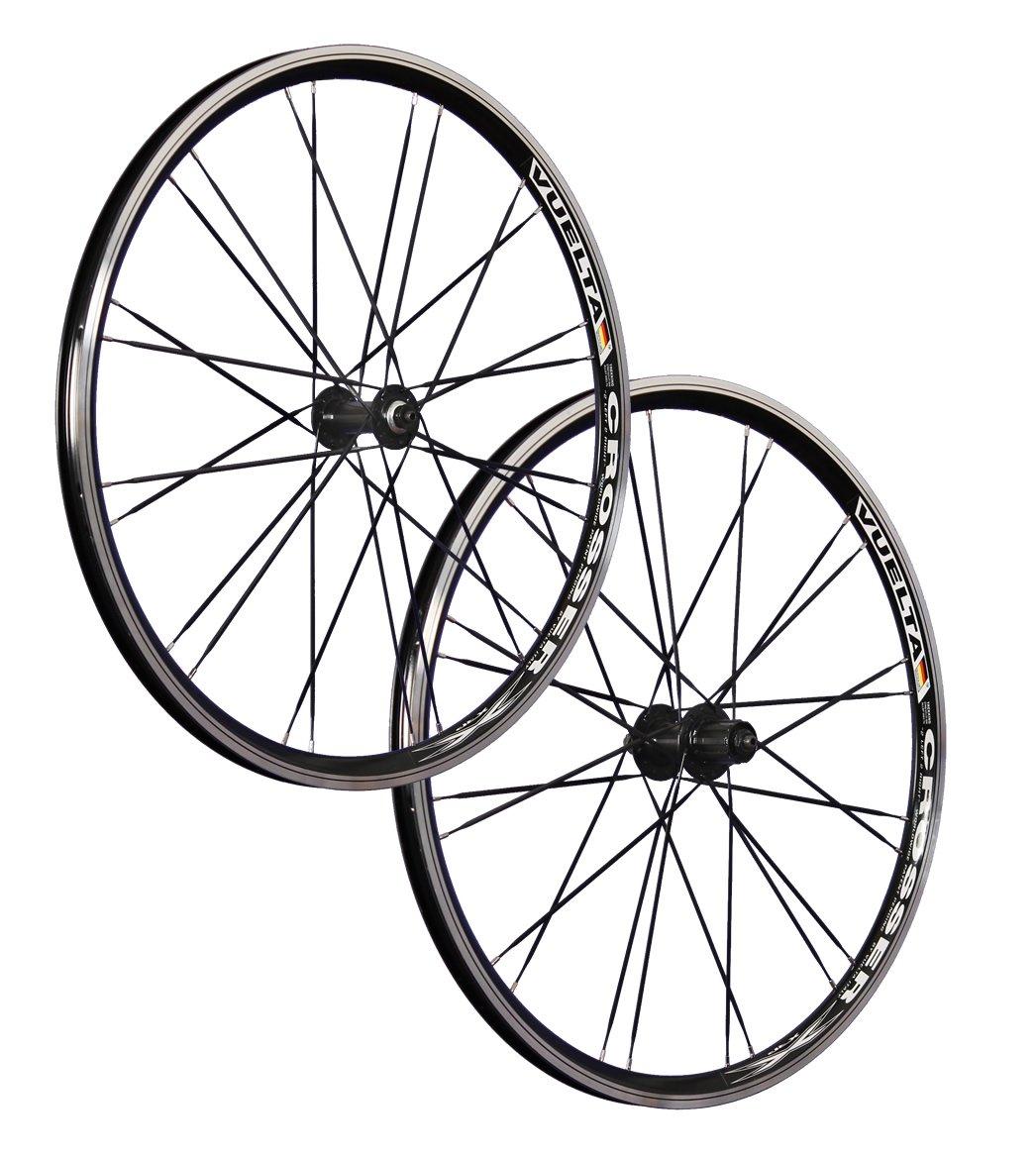 VUELTA 26 pouces ensemble roues v/élo Crosser x II Shimano HB FHRM40 noir 24 tr.