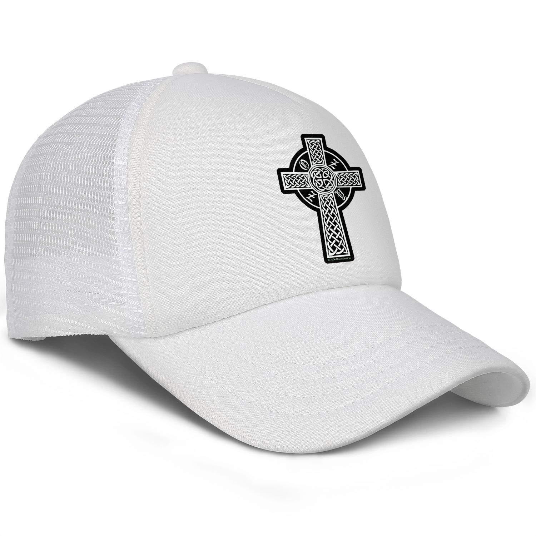 KAIWNV Unisex Trucker Caps Adjustable Pattern Summer Hats
