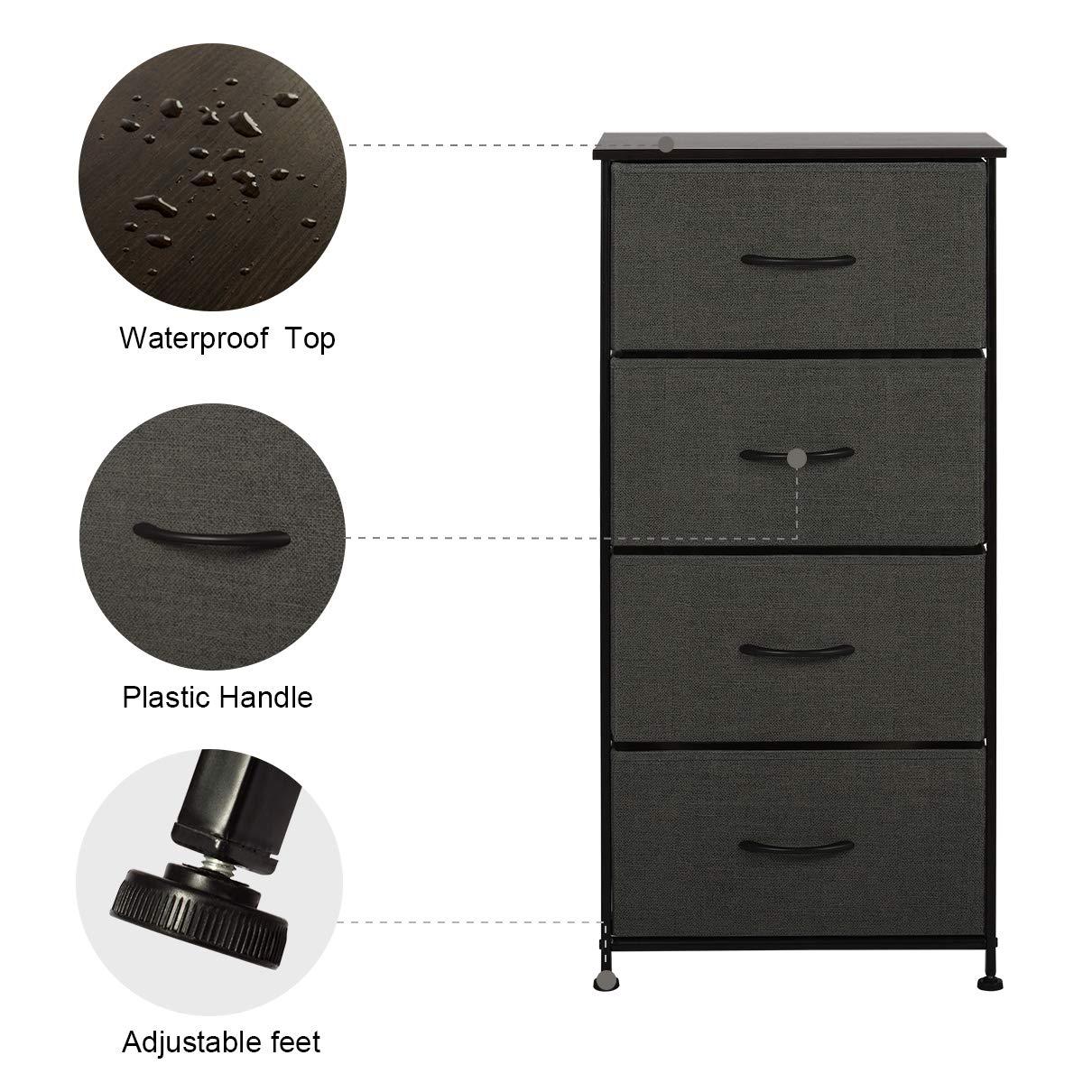 Amazon.com: WLIVE Organizador de almacenamiento de tela ...