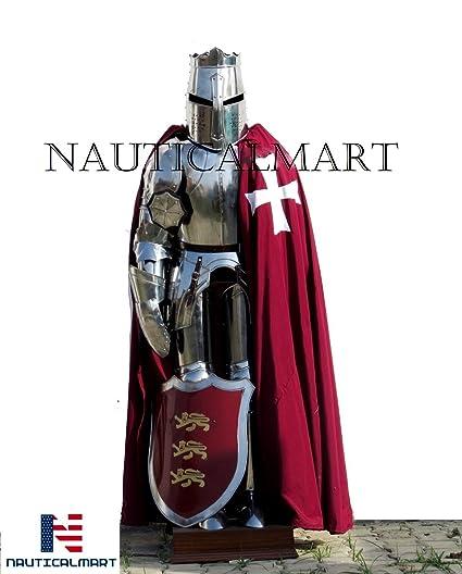 Amazon.com: NAUTICALMART Crusader - Traje completo de ...