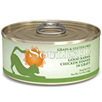 Soulistic Good Karma Chicken Dinner Adult Canned Cat Food in Gravy