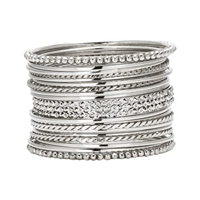 the sterling bracelets back com to moon dp silver adjustable jewelry i bangles love and you bangle bracelet amazon