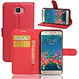 BLU Studio G HD LTE Case, iBetter BLU Studio G HD LTE Wallet Case Premium PU Leather Wallet Smartphone Case with Stand Function for BLU Studio G HD LTE (Red)