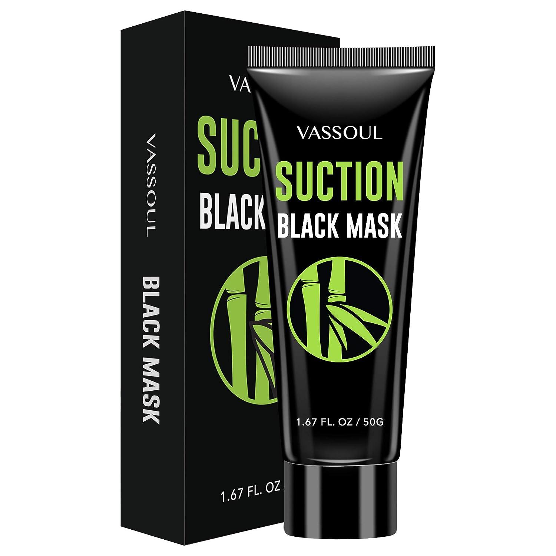 Vassoul Blackhead Remover Mask Peel Off Blackhead Mask Black Mask  Deep Cleansing Facial Mask for