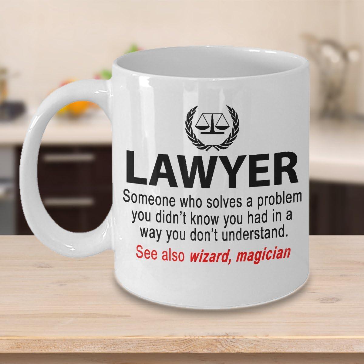 Attorney Definition Coffee Mug Lawyer Gift Gift For Attorney Appreciation