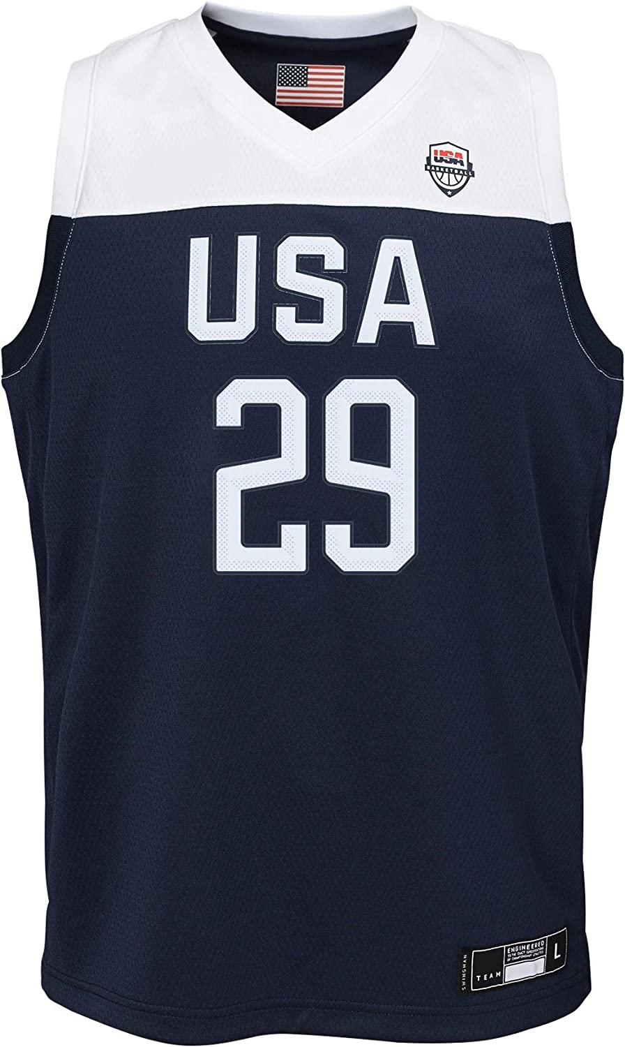 Outerstuff Team USA Basketball Paul George #29 Road Navy Swingman Jersey Youth Sizes