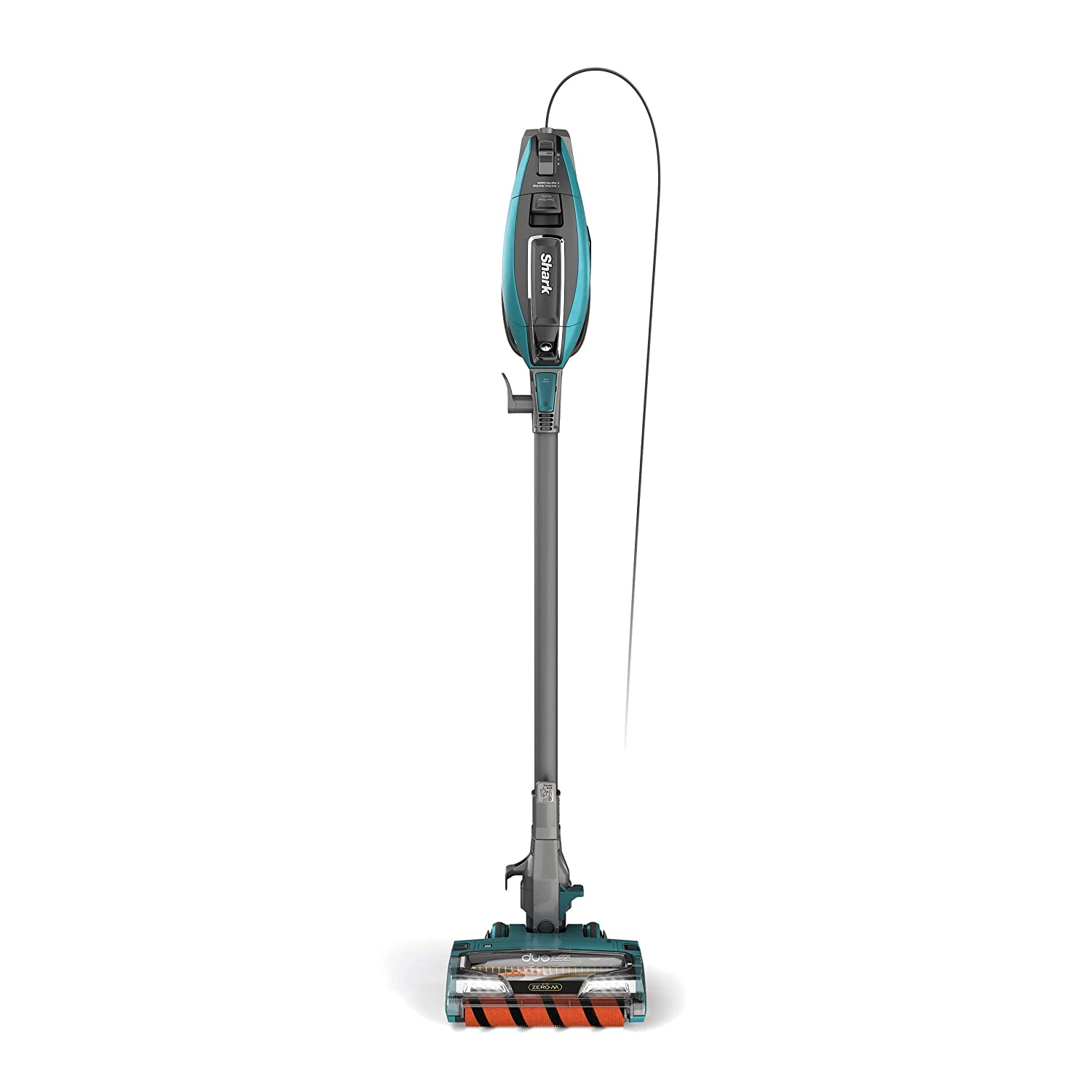 Shark APEX DuoClean with Zero-M No Hair Wrap (ZS362) Stick Vacuum Forest Mist Blue (Renewed)