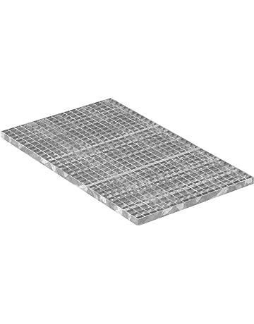 K60 Baunorm Gitterrost//verzinkt//MW 30x10 490x790 mm 20 mm hoch