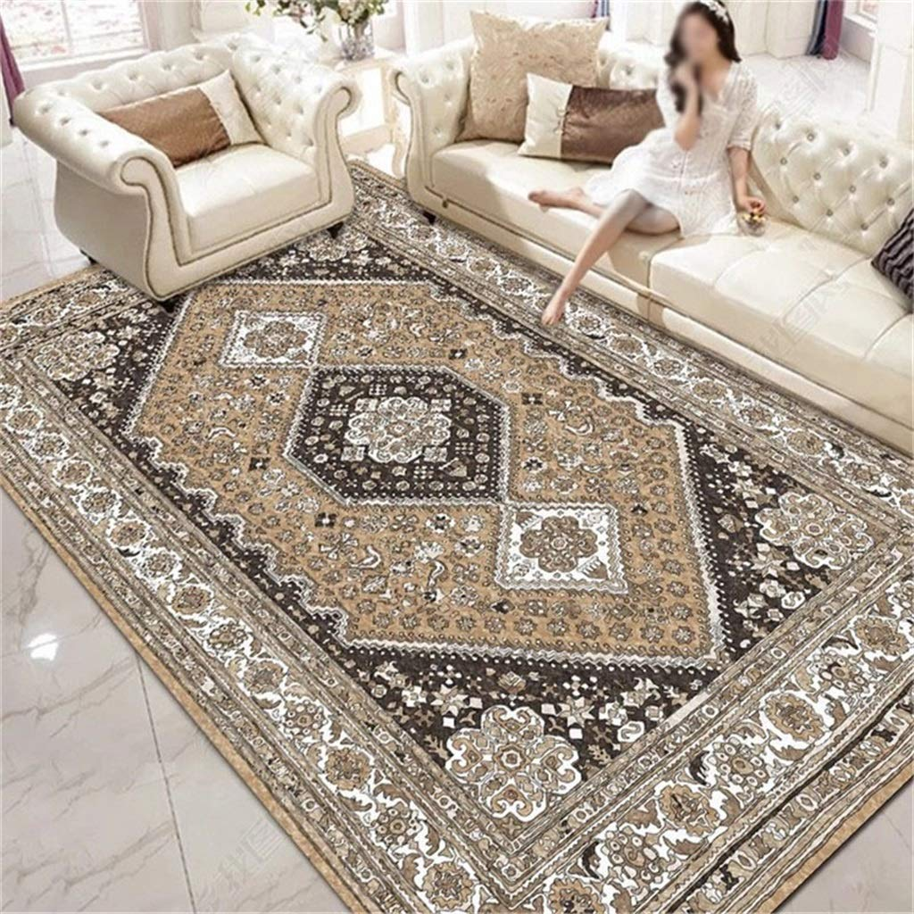 Rugs For Entryway National Wind Floor Mat Retro Carpet Living Room Coffee Table Mat Bedroom Bedside Blanket