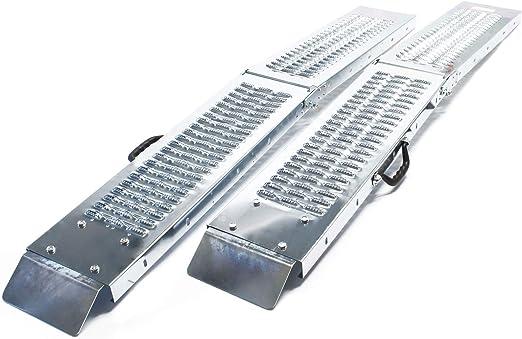 plata LAS 10607 Rampa plegable de acero