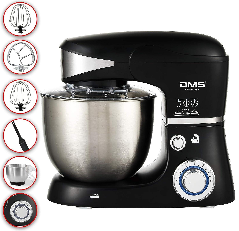 *B-WARE* Küchen Knet Rühr Maschine Gerät Glasschüssel Teigkneter Standmixer 5L