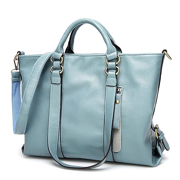 Women Top Handle Satchel Handbags Shoulder Bag Top Purse Messenger ...